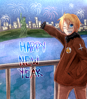 Happy New Year from America by Seaside-Bunny