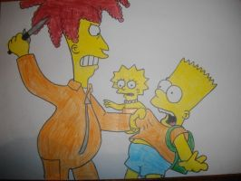 The Simpsons by Harley-Jay