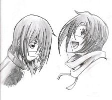 Agito and Akito from Air Gear by bloodyvampire18