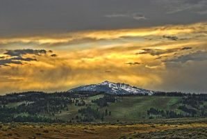 Yellowstone Sunset 2 by RichardNohs