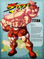 Street Fighter Destiny - Titan by mikewinn