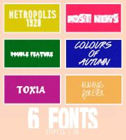 Fonts by stuffis