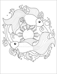 Pisces Tattoo by Sugi-chan
