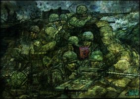 Sgt Rock. Army At War..Khesanh 1968 by fenice8