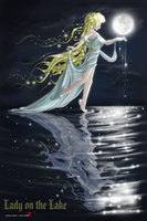 Lady on the Lake by Acdnoodles