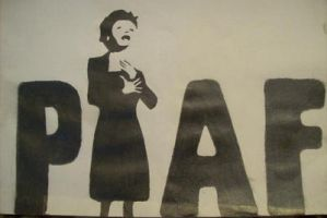 Edith Piaf by melindasixx