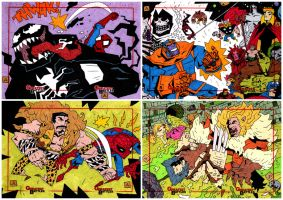 Marvel's Greatest Battles (4 sets) by soliton