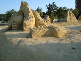 Sand art in burgas 17 by tonev