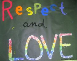 Respect and love. by itotallyheartdrawing