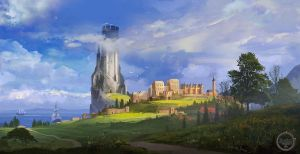 White Tower. Tightrope Games by SergeyZabelin