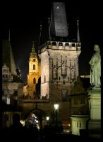 Night Prague - Czech Republic II by SvitakovaEva