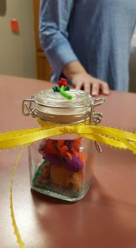 V-day Dragon in a jar (Front view) by Kitty1617