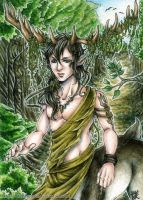 ACEO: The Guardian by 1000Dreams