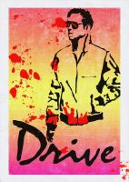 Drive poster: Fan art by echoesfading