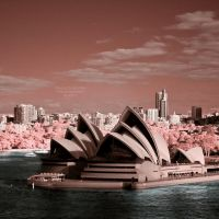 Sydney Opera House - Infrared by La-Vita-a-Bella
