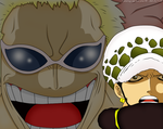 One piece 673 Law and joker by SLN87