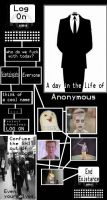 A day in the life of ANONYMOUS by Ritsuzen