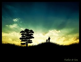 Father and Son by s3vendays