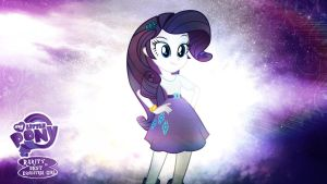 Rarity is Best Equestria Girl HD Wallpaper by Jackardy
