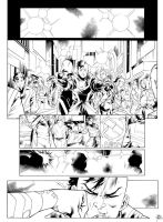 Inks: 321 Fast Comics v2 page by RB Silva by adr-ben