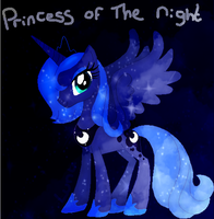 Princess Of The Night by l3utts