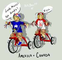 APH: New Tricycles by kelly--bean