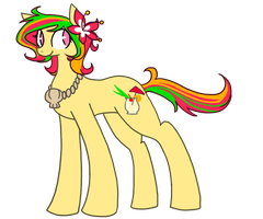 Pony adoptable auction (Pina Colada) by Infidopts
