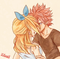 NaLu Fairy Tail :D by K6mil