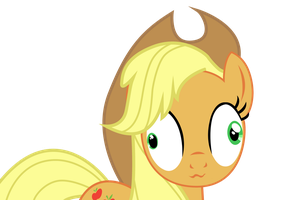Applejack - Derpy Eyes by HungMob
