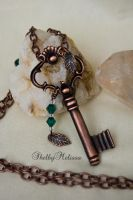 Key to Nature Necklace by ShelbyMelissa