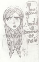 You gonna build a snowman or nah? by Cobalt-Flame