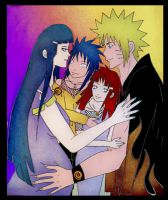 NaruHina_My Family 4 contest by SoulOfPersephone