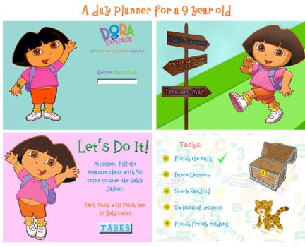 A Day Planner for a 9 year old by ShivikaSood