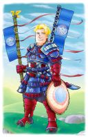 Captain America- Samurai Style by Saturn-Kitty