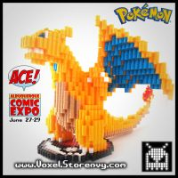 Charizard! Comic Con Exclusive by VoxelPerlers