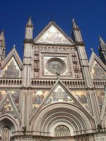 Cathedral at Orvieto by Spevsy