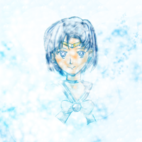 Sailor Mercury by maybesomecake