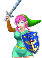 Link tg snes colors by Rezuban