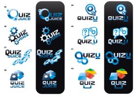 Quiz Juice. Logo Proposals. by javieralcalde