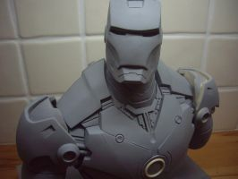 Iron man Bust 12 by Mutronics