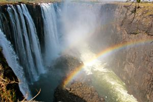 Victoria Falls - Over the Edge by WynterWonderer