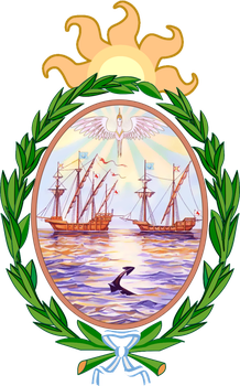 Argent Lake's Coat of Arms by koach2