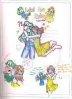 -Luigi and Daisy Love- by magicalmoon20