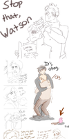 Johnlock dump SH by italypizza25