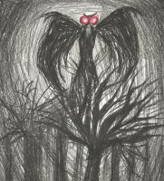 The Mothman by pink12301
