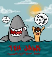TEH JAWS by eightbreeze