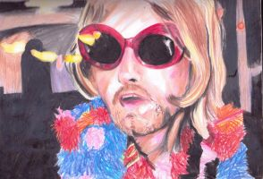 Kurt Cobain Lights by chibimewerizu