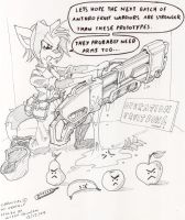 phase one weapons training by kitfox-crimson