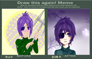 Draw This Again Meme 3 by RipperLady