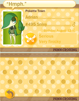 PKMN Crossing :: Adrian by Ameyh
